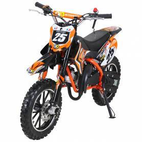 copy of MINI MOTO DE CROSS GASOLINA PARA NIÑOS GAZELLE 49 CC