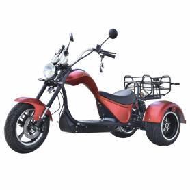 CITYCOCO COBRA S3 49E 4000W/24 AH DUAL MOTOR 2X2 ROJO