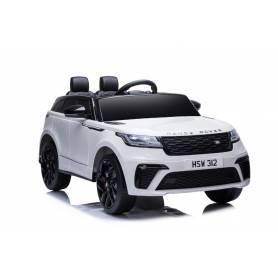 """Coche Eléctrico Infantil """"Range Rover Velar"""" - Licenciado - Batería 12V7AH, 2 Motores + 2,4Ghz + Asiento Piel + EVA"""