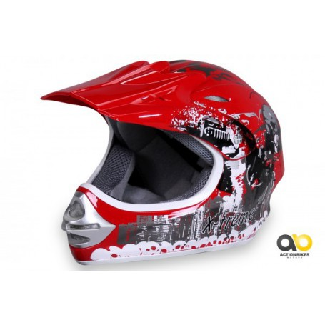 CASCO X-TREME ROJO
