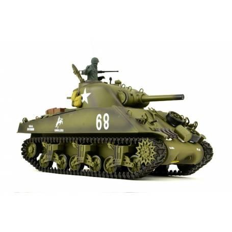 TANQUE TELEDIRIGIDO US M4A3 SHERMAN RC