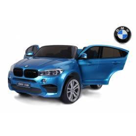 COCHE ELÉCTRICO PARA NIÑOS 2 PLAZAS BMW X6M XXL 12V 2x120 W
