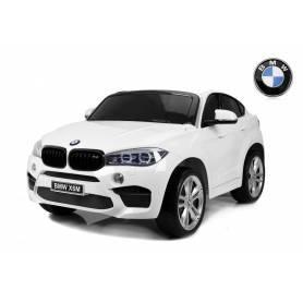 COCHE ELÉCTRICO PARA NIÑOS 2 PLAZAS BMW X6M XXL 12V RC