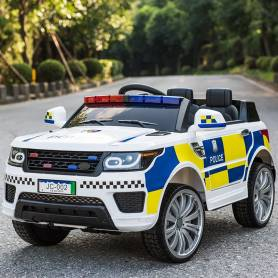 COCHE ELECTRICO PARA NIÑOS POLICIA INGLESA12V RC