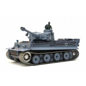 "TANQUE TELEDIRIGIDO ""GERMAN TIGER I"" HENG LONG 1:16 PRO"