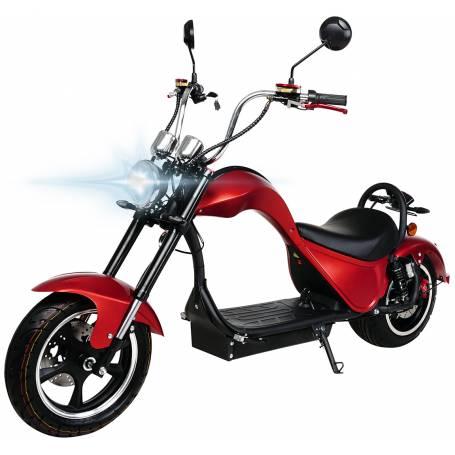MOTO ELECTRICA MATRICULABLE COBRA 49E 2000W/24 AH